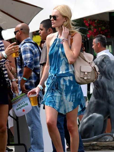 <p>Kate Bosworth carrying the Mulberry Leah shoulder bag at the Coachella music festival</p>