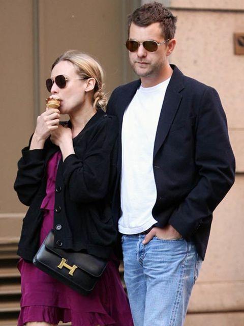 <p>Diane Kruger carrying a Hermes Constance bag </p>