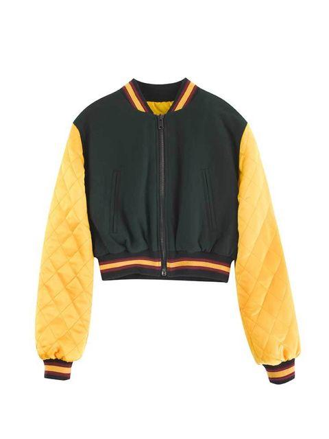 <p>Bomber jacket, £355</p>