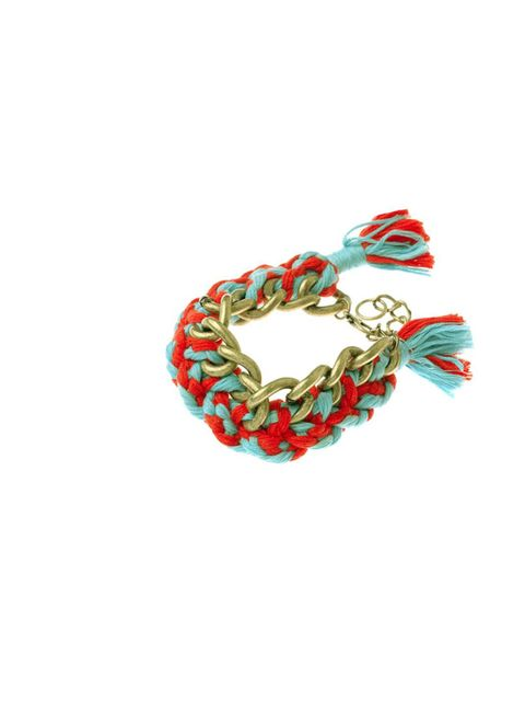 "<p>We all know the colourful friendship bracelet is the coolest way to accessorize this season, and at just £7, you can layer up to the max with these new styles… <a href=""http://www.pretaportobello.com/PPB/Festival-Chain-Bracelet.aspx"">PPB</a> braided br"