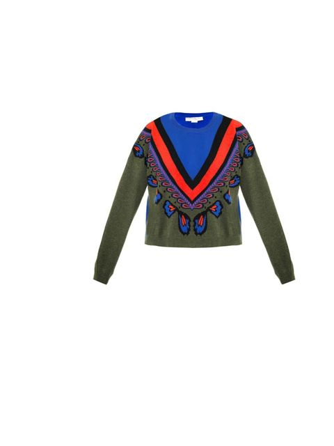 "<p>Stella McCartney cropped sweater, £535, at <a href=""http://www.matchesfashion.com/product/127512"">Matches Fashion</a></p>"