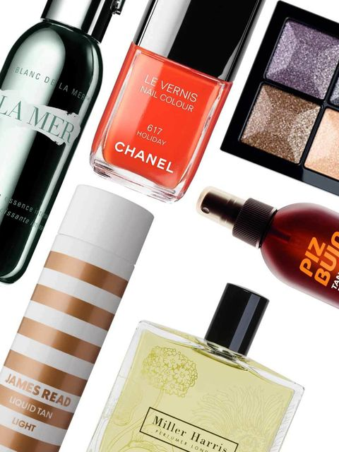 <p>Want to know the hottest beauty buys to get you though summer? The ELLE team have revealed the old favourites and new products they love; which ones will make it onto your holiday shopping list?</p>