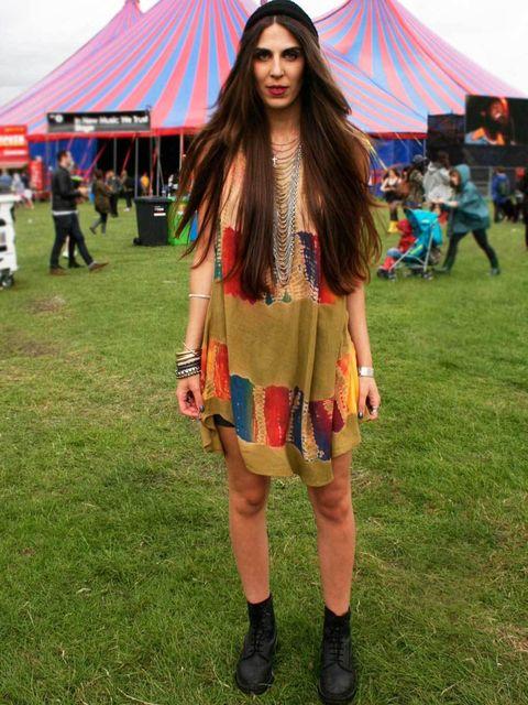 <p>Rachel Hannaway, 23, Photographer. Vintage dress, Dr Martens boots, Thinsulate hat, New Look backpack.</p><p>Photos by Lisa Rahman & Nikki McClarron</p>