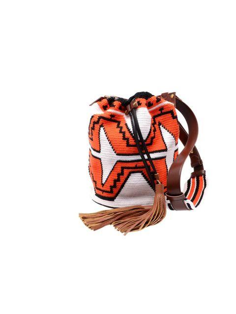 "<p>Sara Battaglia tribal bucket bag, £655, at Browns</p><p><a href=""http://shopping.elleuk.com/browse?fts=sara+battaglia"">BUY NOW</a></p>"