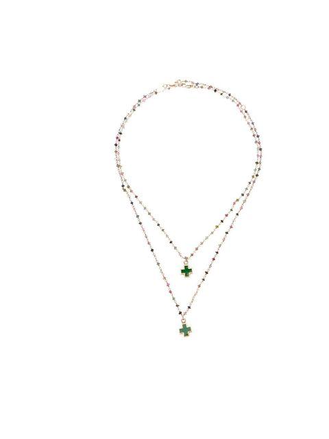 """<p>Tess Van Ghert necklace, £135, at <a href=""""http://www.farfetch.com/shopping/women/tess-van-ghert-cross-pendant-necklace-item-10211321.aspx"""">Farfetch</a></p>"""