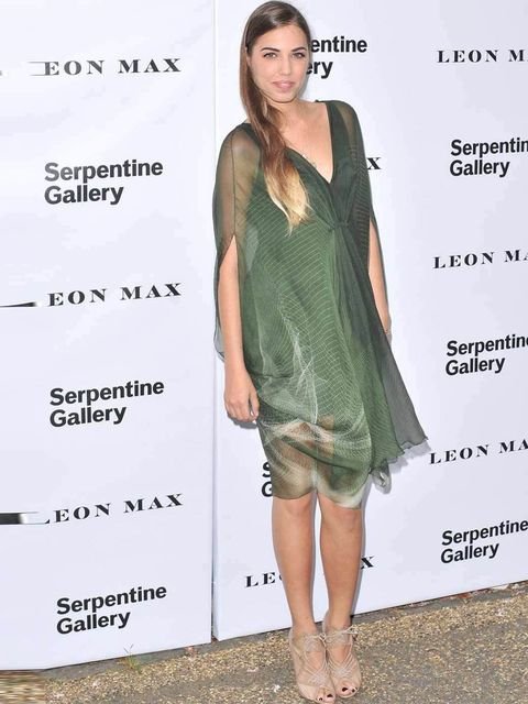 <p>Amber Le Bon at the Serpentine Summer Party 2012</p>