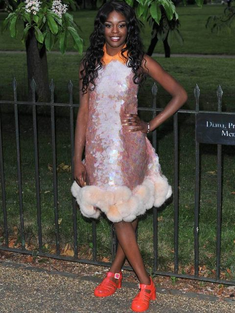 <p>Azealia Banks at the Serpentine Summer Party 2012</p>