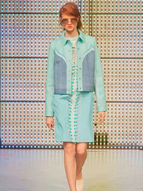 <p>Holly Fulton S/S 2013</p>
