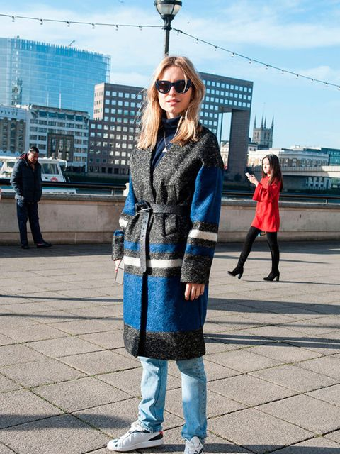 Street Style, Day 5, London Fashion Week a/w 2015.