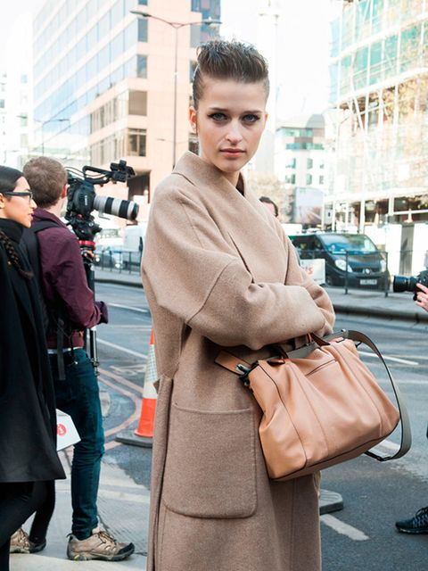 Models off duty, Day 5, London Style Week a/w 2015.