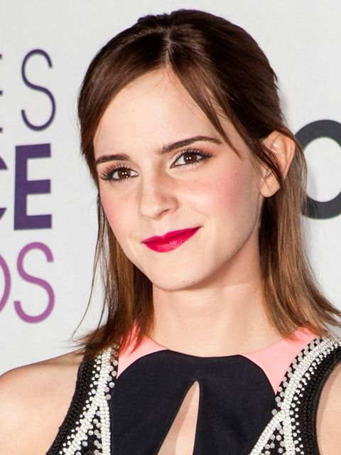 """<p><a href=""""http://www.elleuk.com/star-style/celebrity-style-files/emma-watson"""">Emma Watson</a> at the People's Choice Awards in LA.</p>"""