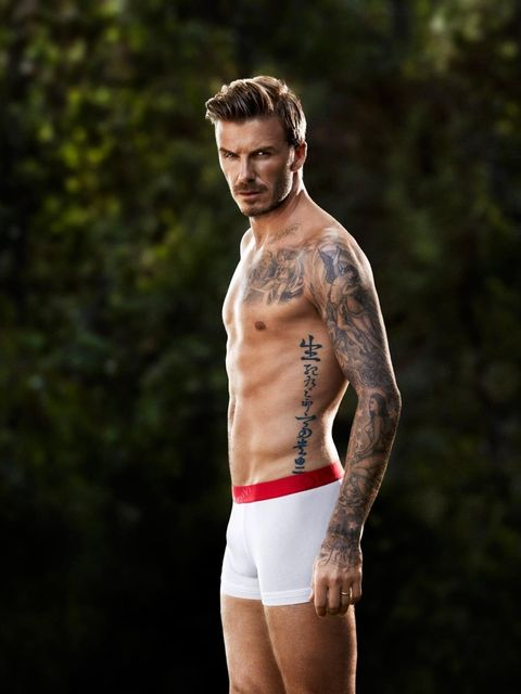<p>David Beckham in the H&M spring campaign.</p>