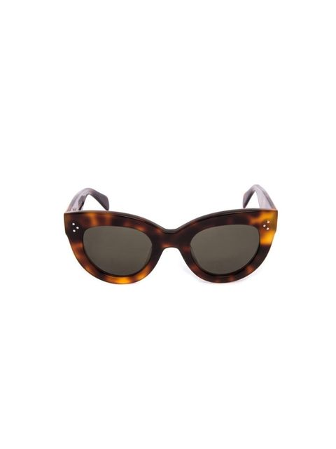 Invest in a great pair of sunglasses.  Celine £210, Matches