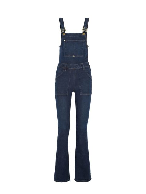 Leave your jeans behind and pack these denim dungarees instead.  Frame £325, Net-a-porter