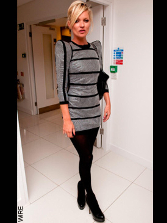 <p>Kate Moss in Balmain</p>