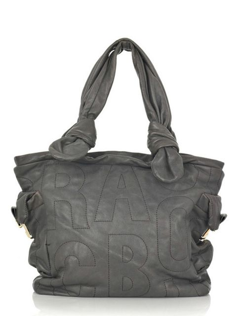 """<p>Grey quilted leather tote, £380, by Marc by Marc Jacobs at <a href=""""http://www.net-a-porter.com/product/60944"""">Net-a-Porter</a> </p>"""
