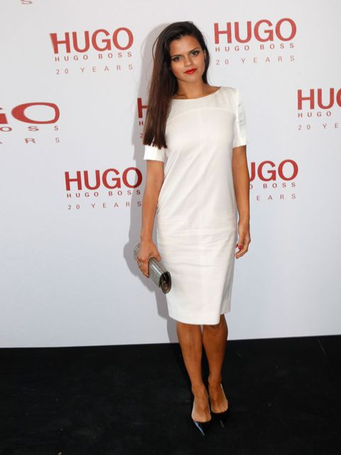 <p>Bip Ling, in a dress from the HUGO 20th Anniversary capsule collection.</p>