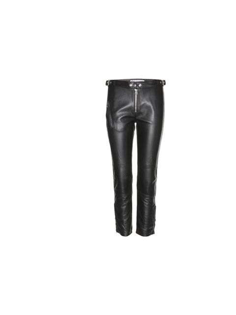 "<p>Go hell for leather with Acne's cropped trousers, £1090, at <a href=""http://www.mytheresa.com/en-gb/mood-leather-trousers.html"">mytheresa.com</a></p>"