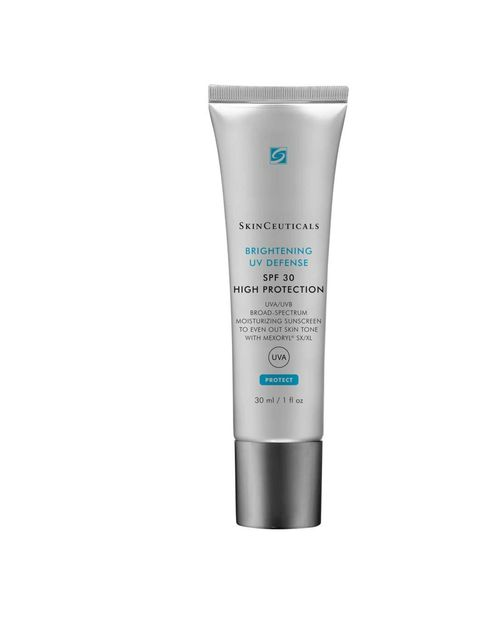"<p><a href=""http://www.skinceuticals.com/ultimate-uv-defense-spf-30-635494141306.html"" target=""_blank"">SkinCeuticals Ultimate UV Defense SPF30, £30.</a></p>  <p>You won't see the French or Swiss sporting panda eyes because they know the number one must-ha"
