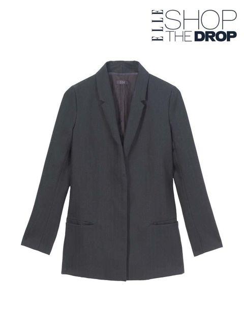 "<p><a href=""http://www.cosstores.com/gb/Shop/Women/Blazers/Fade-out_lapel_blazer/10640078-16930357.1#c-22755"">Cos</a> blazer, £135</p>  <p>Read more about <a href=""http://www.elleuk.com/fashion/news/introducing-shop-the-drop"">Shop The Drop</a></p>"