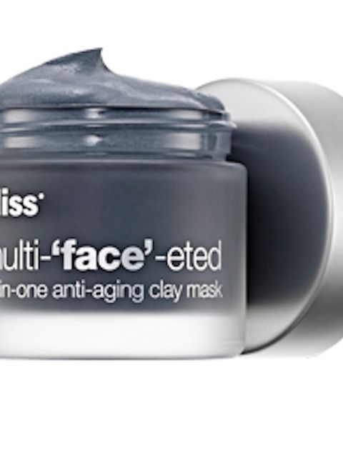 """<p><a href=""""http://www.blissworld.co.uk/bliss-multi-face-eted-all-in-one-anti-ageing-clay-mask/"""" target=""""_blank"""">Bliss Multi-&lsquo&#x3B;face&rsquo&#x3B;- eted Face Mask, &pound&#x3B;35. </a></p><p>While other clay masks may dry skin, this one from Bliss is totally fa"""