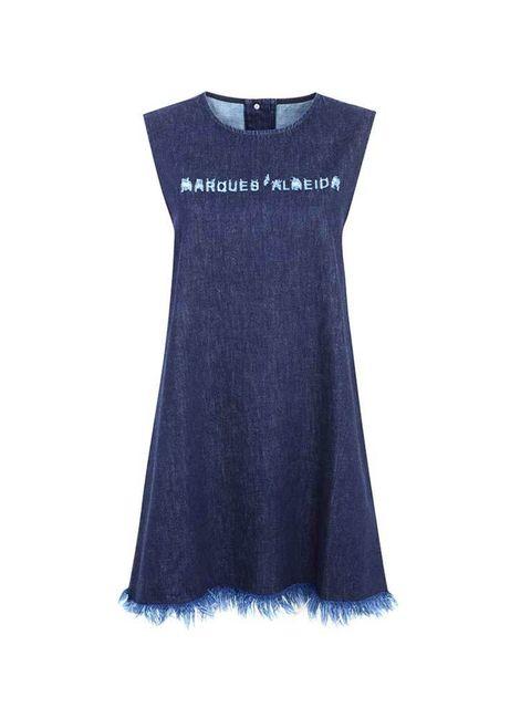 <p>Denim dress, £80</p>