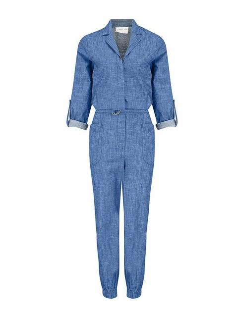 "<p><a href=""http://www.atterleyroad.com/chambray-jumpsuit-1.html"" target=""_blank"">Atterley Road</a> jumpsuit, £75</p>"