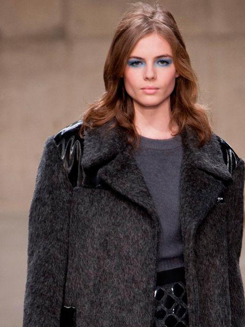 "<p>Rosie Tapner at <a href=""http://www.elleuk.com/catwalk/designer-a-z/unique/autumn-winter-2013"">Unique</a> Autumn Winter 13.</p>"