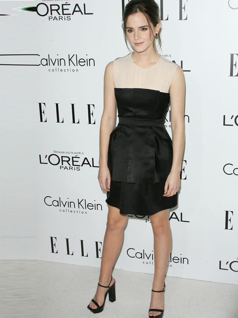 <p>Emma Watson in Calvin Klein Collection</p>