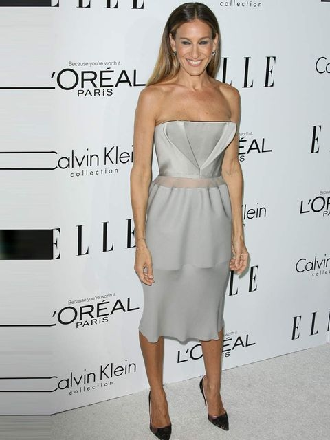 <p>Sarah Jessica Parker in Calvin Klein Collection</p>