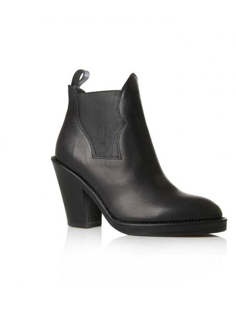 "<p>Acne 'Star' boot, £390 at Selfridges</p><p><a href=""http://www.selfridges.com/en/Womenswear/Categories/Shoes/Boots/Ankle-boots/Star-ankle-boots_641-10004-3088700109/?cm_mmc=PPC-_-Google-_-PlusBox-_-Acne&_%24ja%3Dkw%3A%7Bkeyword%7D%7Ccgn%3Apla%C2%AC"