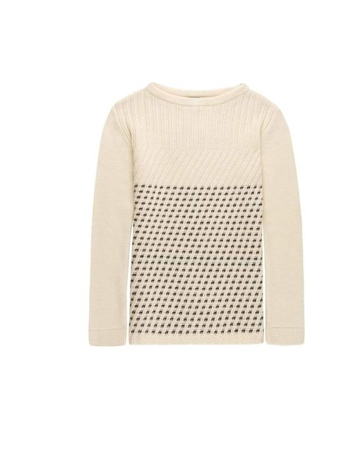 "<p><a href=""http://www.daks.com/products/womenswear/aw12-collection.aspx"">Daks</a> monochrome chunky knit jumper, £145</p>"