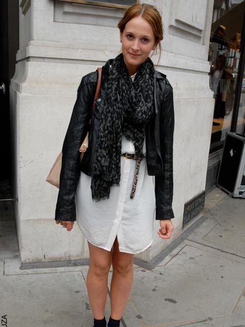 "<p>Emma, 20, Student. <a href=""http://shopping.elleuk.com/browse?fts=oasis+jacket"">Oasis Jacket</a>, <a href=""http://shopping.elleuk.com/browse?fts=whistles+scarf"">Whistles scarf</a>, H&M dress, <a href=""http://shopping.elleuk.com/browse?fts=topshop+b"