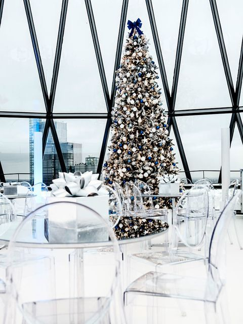 <p>DRINK: Snow Globe in the Sky</p>  <p>Anyone fancy getting high this Christmas? In the literal sense, we mean: 40 storeys up (not sure what you were thinking). Well, here's your chance, at this gorgeous new festive pop-up at the top of The Gherkin. Its