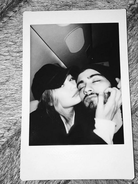 Zayn Malik and Gigi Hadid proved they were officially dating after Zayn posted their first couple photo on Instagram.
