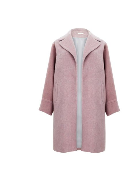 <p>Timeless, feminine and channelling Raf Simons' breath-taking Jil Sander collection. And it's from high street staple Marks & Spencer… Marks & Spencer pink wool coat, £129, for stockists call 0845 302 1234</p>