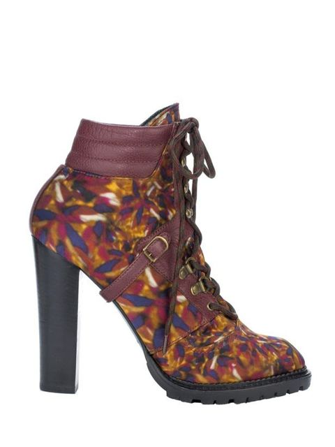 <p><strong>Emma Sells, ELLEuk.com Fashion and News Editor:</strong> 'I've been lusting after these boots ever since I saw them hit the catwalk back in February. They're the perfect colourful counterpoint to all the camel I've been stocking up on and my au