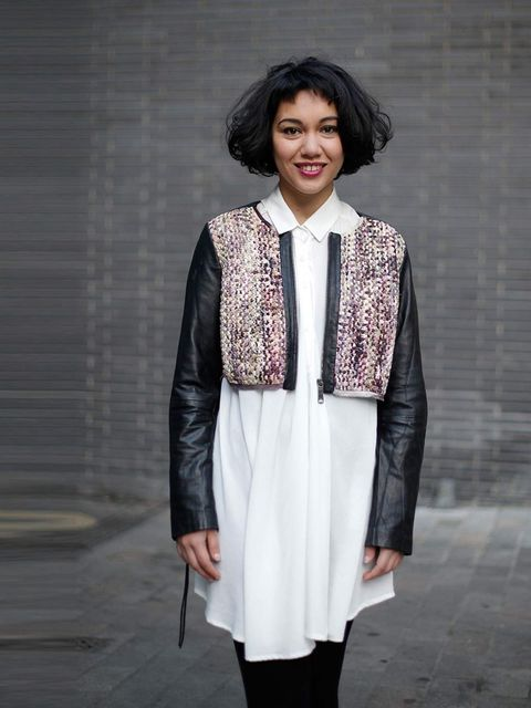 "<p>Amal Khalaf, Curator at Serpentine Gallery</p><p><a href=""http://www.diesel.com/"">Diesel</a> jacket, £520</p><p>Shops: Portobello market</p><p>'For me style is about story telling. I'm super inspired by early cinema, and costumes that are really import"