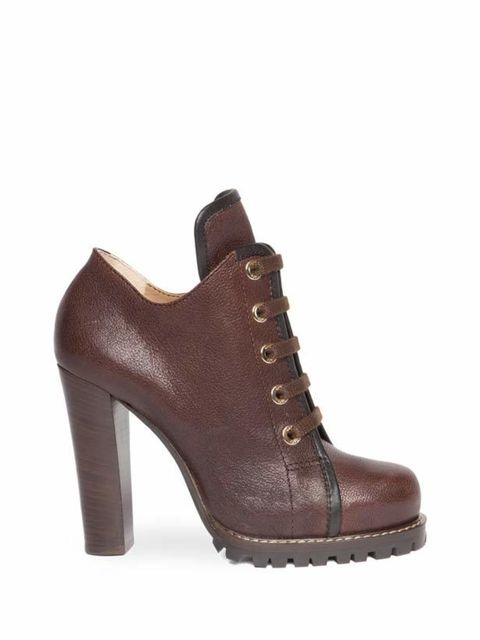 <p>D&amp&#x3B;G lace-up shoes, £485, for stockists call 020 7495 9250</p>