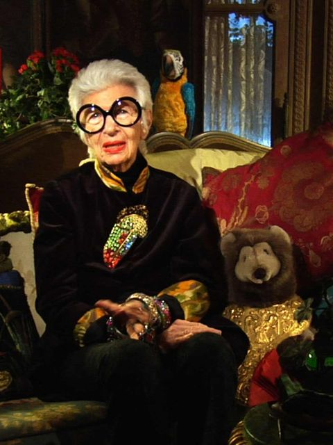 <p>Iris Apfel, one of Bill Cunningham's favourite subjects, appears in the documentary.</p>