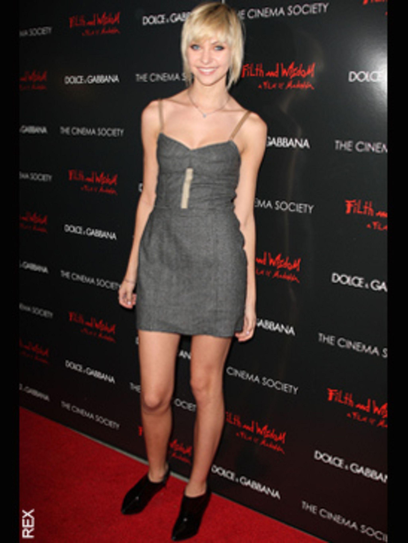 <p>Taylor Momsen in Dolce & Gabbana</p>