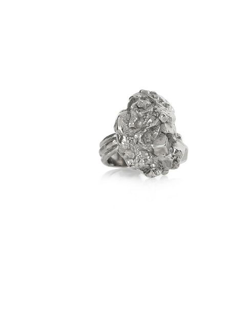 """<p>Yves Saint Laurent 'Arty Too' ring, £180, at <a href=""""http://www.net-a-porter.com/product/107138"""">Net-a-Porter</a></p>"""