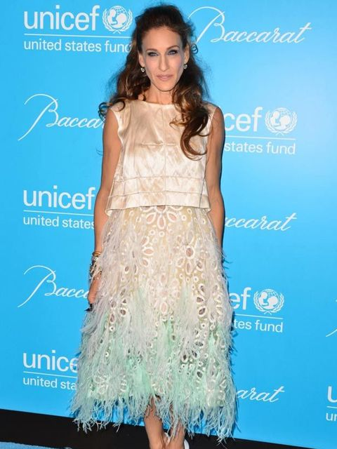 """<p><a href=""""http://www.elleuk.com/starstyle/style-files/(section)/Sarah-Jessica-Parker"""">Sarah Jessica Parker</a> wearing one of <a href=""""http://www.elleuk.com/catwalk/collections/louis-vuitton/spring-summer-2012"""">Louis Vuitton's</a> beautiful spring/summe"""