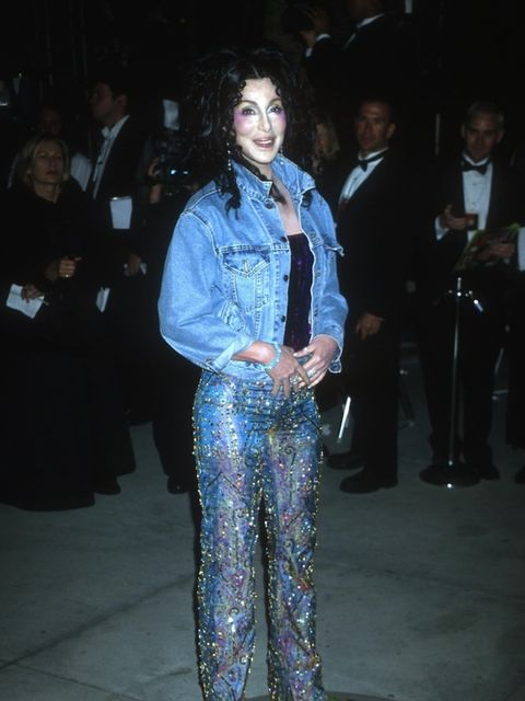 <p>At the Vanity Fair Oscars After Party in 2000</p>