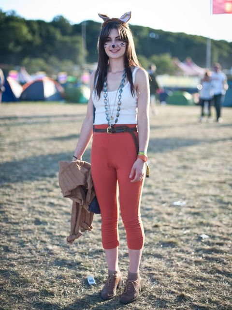 <p>Jess, 20. Trousers from eBay, Office shoes, Dad's belt, Mother's necklace, Uniqlo socks.</p>