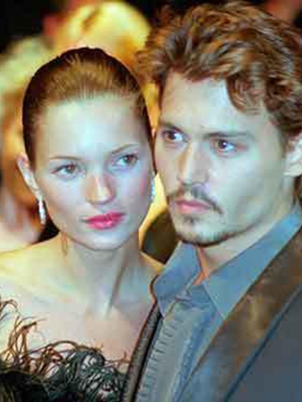 Kate Moss And Johnny Depp Elle Uk