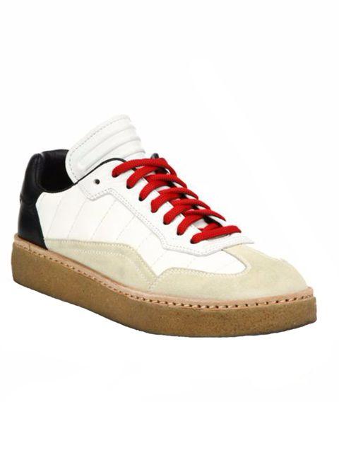 "<p>Sneakers, £335, <a href=""https://www.ssense.com/en-gb/women/product/alexander-wang/black-leather-suede-eden-sneakers/1462993?forced_user_country=GB&gclid=CK-kxbnDp8sCFckaGwod-JMMDg"" target=""_blank"">Alexander Wang</a></p>"