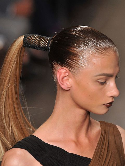 """<p>Whether spring or autumn, fashion's love affair with shine never seems to wane. This time round we saw it in many guises from wet-look lacquer at <a href=""""http://www.elleuk.com/catwalk/collections/custo-barcelona/"""">Custo Barcelona</a>, sleek and sporty"""