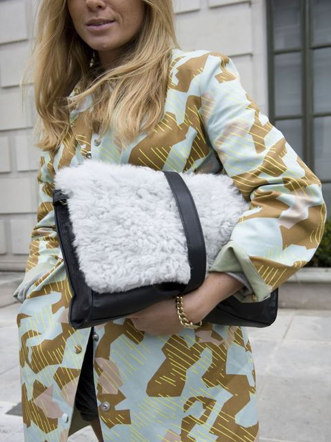 <p>London Style Week Street Style Spring Summer 13</p>