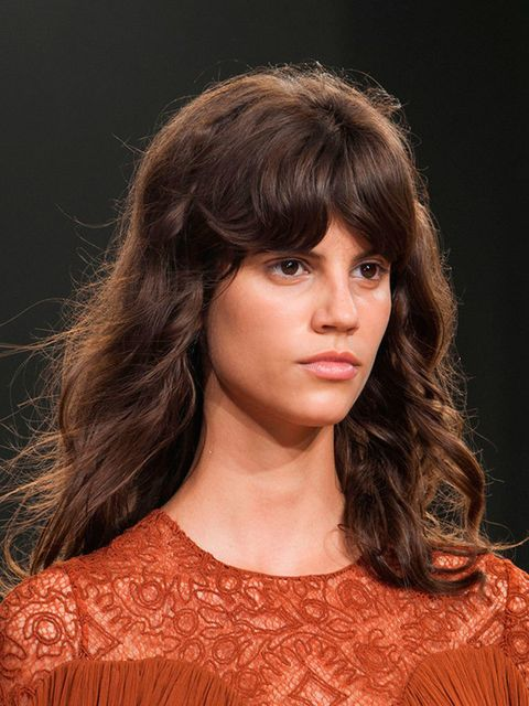 """<p><a href=""""http://www.elleuk.com/catwalk/chloe/spring-summer-2015"""">Chloé</a></p>  <p>The look: Chocolate lashes</p>  <p>Make-up artist: Lucia Pieroni</p>  <p>Key products: <a href=""""http://www.maccosmetics.co.uk/product/160/21871/Products/Face/Primer/Prep"""